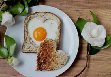 Desayuno romántico para San Valentín