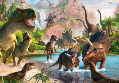 Dinosaurios, Colorear, dibujar y su historia!